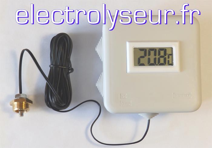 Thermomètre numérique pour plomberie