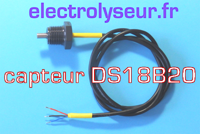 kit sonde DS18B20 filtration piscine