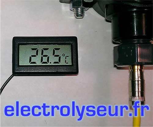 KIT Thermomètre numérique pour circuit de filtration piscine