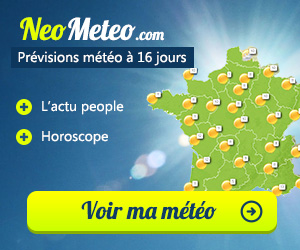 Vos pr�visions m�t�o d�taill�es � 16 Jours !