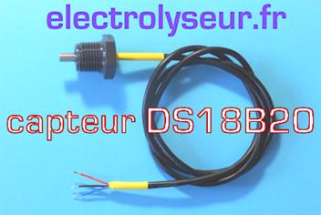 kit SONDE DS18B20 pour circuits électroniques de mesure de température