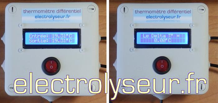 Sonde ds18b20 pour arduino et domotique for Thermometre digital pour piscine
